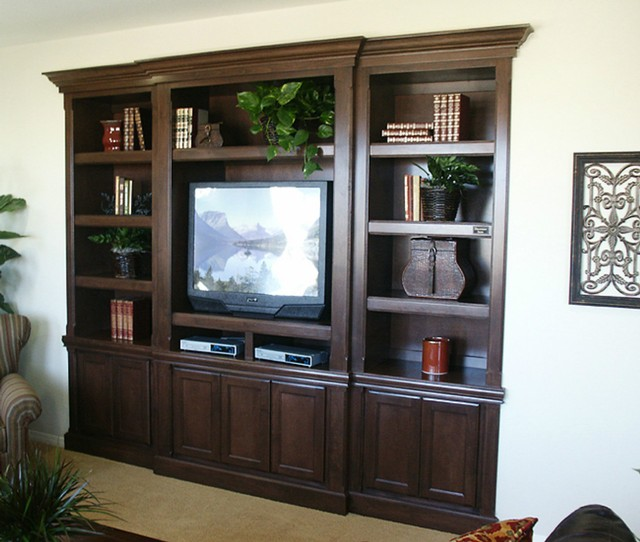 Evans Woodworking Gallery Entertainment Centers